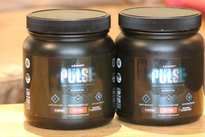 Old Version of Legion Pulse on left, new version on the right