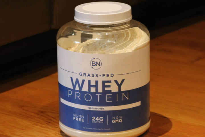 A 5lb Container of BN Labs Grass-Fed Unflavored Whey Protein